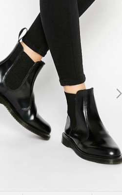&OtherStories Leather Chelsea Boots - black chelsea boots