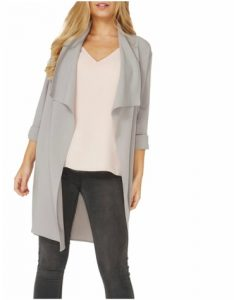 House of Fraser Dorothy Perkins Waterfall Duster Jacket