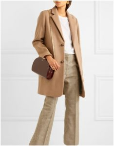 Net-a-Porter Camel Winter Coat