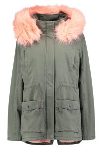 Zalando - Teddy Smith PAURYLE Parka - Khaki