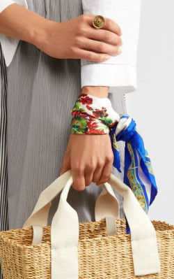 Net-a-Porter Dolce & Gabbana Printed silk-twill scarf