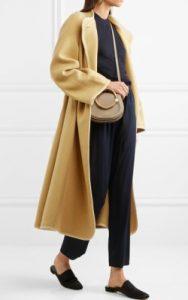 Net-a-Porter Chloé Wool-blend coat - $2,195 in camel