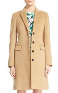 Nordstrom Burberry Sidlesham Wool & Cashmere Coat - $1,795