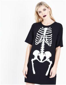 New Look - Skeleton Print Dress