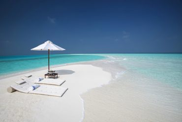 Milaidhoo private sandbank Maldives